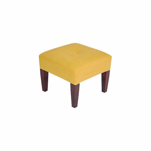 """Picture of 18"""" SQUARE STOOL (1) BUTTONS"""