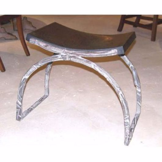 Picture of ARCHED BRONZE STOOL