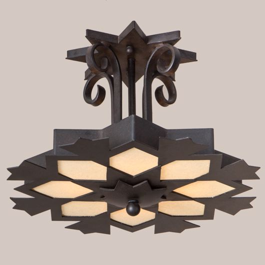 Picture of SNOWFLAKE CEILING FIXTURE