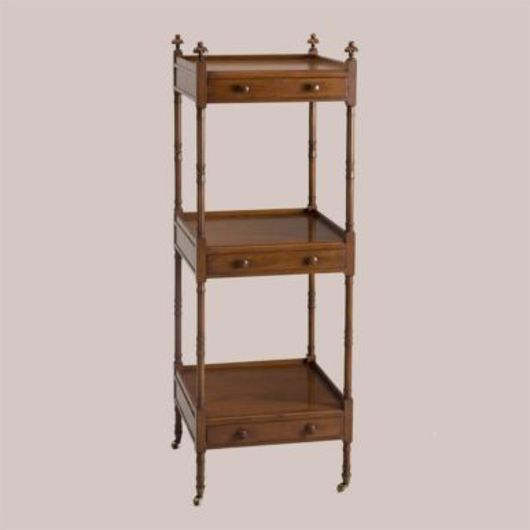 Picture of 6158 SQUARE 3-TIER ETAGERE WITH DRAWERS