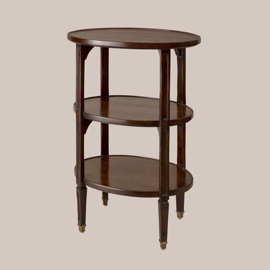 Picture of 3-TIER OVAL ETAGERE SMALL SIZE