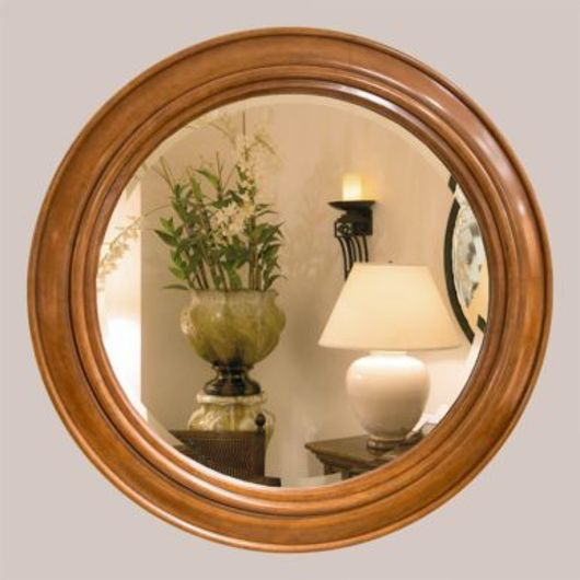 Picture of CIRCLE MIRROR WITH BEVEL