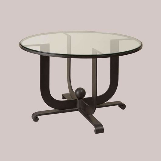 Picture of ART DECO ROUND SIDE TABLE