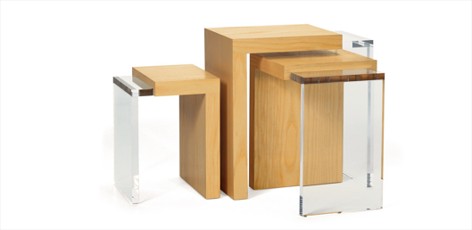 Picture of 3-WAY NESTING TABLES SET