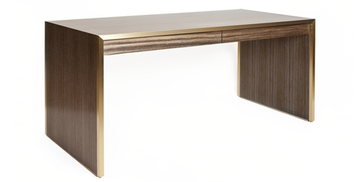 Picture of SLIVER DESK WITH DRAWERS