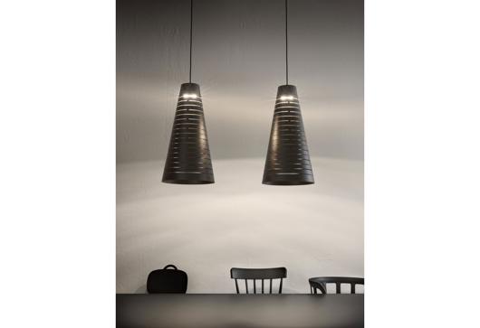 Picture of CERVINO - SUSPENSION LAMP IN ENAMELLED STEEL