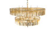Picture of MIDAS TWO TIER CHANDELIER