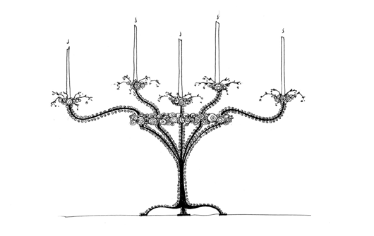 Picture of FANTASY CANDELABRUM 2 CONCEPT BY ANDREW FISHER